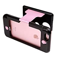 eMart iPhone Case 3D VR Glasses Box Casque de Réalité Virtuelle Magic Movie pour iPhone 6 / 6S Plus Taille de l'écran: 5.5 pouces - Pink