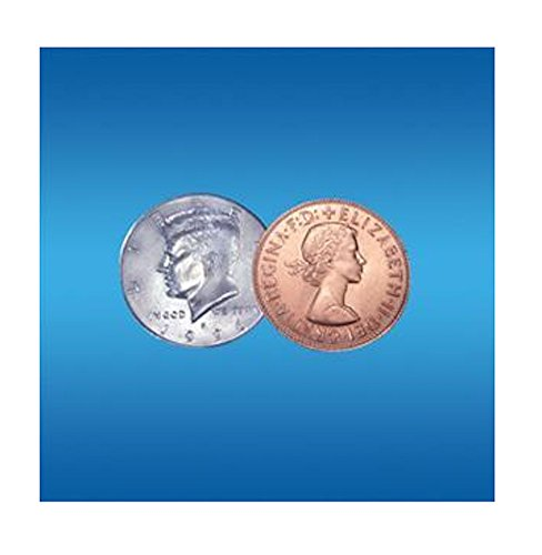 Flosso Copper Silver Half Coin Trick - Super Easy Trick That Always Amazes!