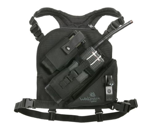 Wolfpack Gear Phantom Junior Radio Chest Harness