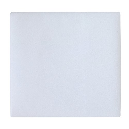 Carter's Flannel Protector Pad, Solid White, One Size