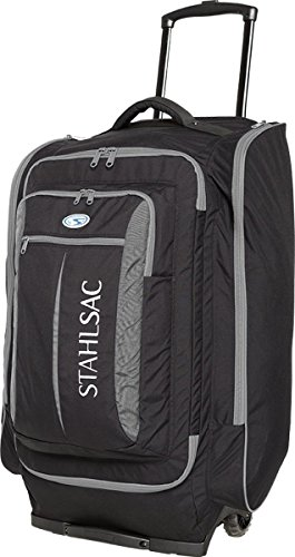 Duffel Large 29 Wheeled (Stahlsac Caicos Cargo Wheeled Dive Pack (Grey/Black))