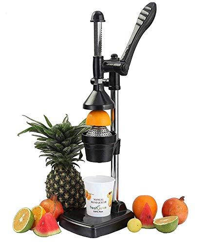 HKUTOTECH Aluminium Hand Press Citrus Juicer,Hand Press Juicer Machine   Cold Press Juicer   Manual juicer for Fruits…