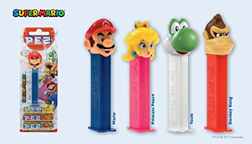 PEZ Candy Nintendo Assortment Blister Pack (Pack of - Assortment Blister