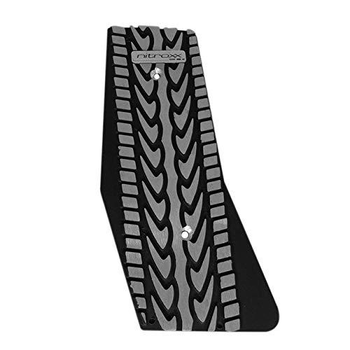 Shutt Nitroxx DPX4B Black Aluminum Dead Pedal Kick Foot Rest Universal Fit