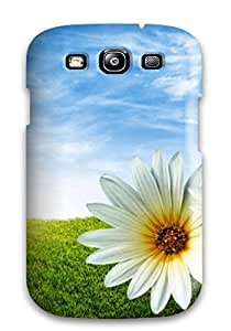 Special JakeNC Skin Case Cover For Galaxy S3, Popular Flower Phone Case