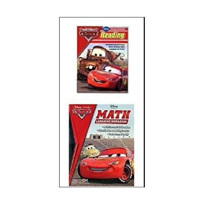 Disney- World of Cars Reading Workbook by Bendon: Toys & Games