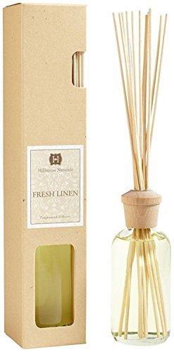 (Hillhouse Naturals Reed Diffuser 8 Oz. - Fresh Linen)