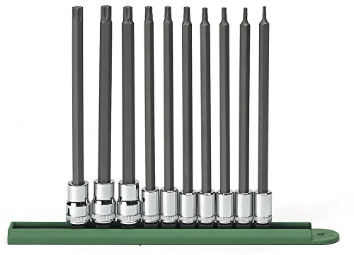 - GearWrench 80588 10 Piece Long Torx Set (T8-T50)