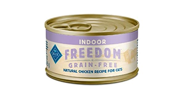 Amazon.com : Libertad Pollo en Conserva comida para gatos para los gatos de interior, paquete de 24, 3 oz latas : Pet Supplies