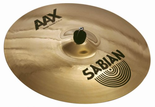 Brilliant Stage Series - Sabian 21708X AAX Series Stage Crash Cymbal - 17 Inches