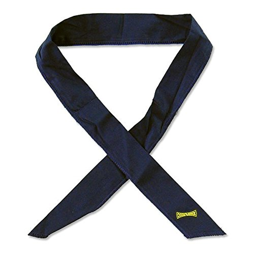 SET OF 10 - Miracool Bandanas - Heat Relief for up to 8 Hours - Contractor Pack - Choose Color (Black)