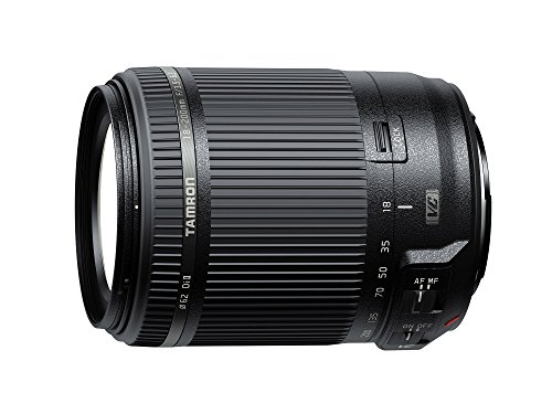 Tamron AF 18-200mm F/3.5-6.3 Di-II VC All-in-One Zoom for Canon APS-C Digital SLR (Renewed) (18 Canon 200)