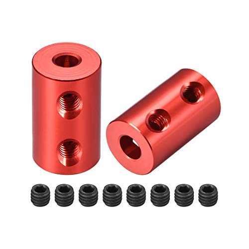 Aluminum A2017 NBK MJC-55-ERD-14-32 Jaw Flexible Coupling Set Screw Type Bore Diameters 14 mm and 32 mm