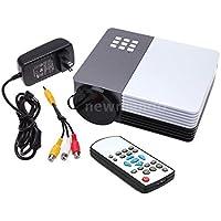 Sangdo GM50 Mini Portable LED Projector HD Video Home Theater AV USB SD VGA HDMI 1080p