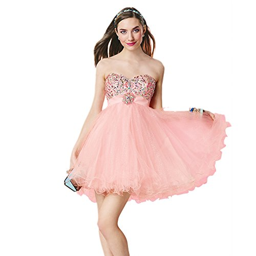 Alyce Paris Strapless Tulle Cocktail Dress Lt Pink – 2