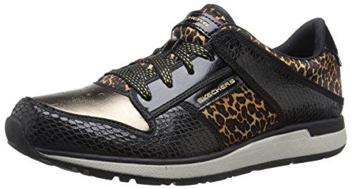 Skechers Womens Fashion Fashion Sneaker Zwart