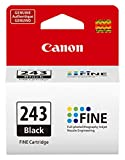 CanonInk 1287C001 Canon PG-243 Black Cartridge, Compatible to MX492, MG3020, MG2920,MG2924, iP2820, MG2525 and MG2420