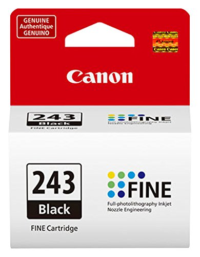Canon PG-243 Black Cartridge, Compatible to MX492, MG3020, MG2920,MG2924, iP2820, MG2525 and MG2420