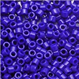 Miyuki Delica Seed Beads 11/0 Opaque Dk Blue DB726 7.2 Grams