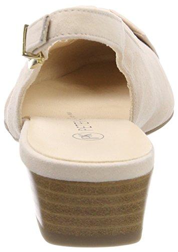 Peter Kaiser Latiza, Scarpe Col Tacco con Cinturino Dietro la Caviglia Donna Rot (Powder Suede)