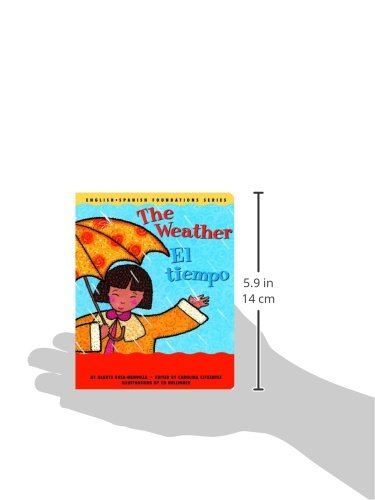 33f3b28e12a8b The Weather / El tiempo (English and Spanish Foundations Series ...