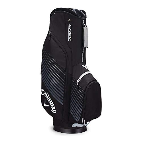 Callaway Golf Chev Cart Bag Golf Bag Cart 2017 Chev Black/Silver/White