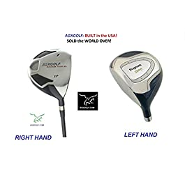 AGXGOLF Men's Magnum #7 Utility Fairway Wood wGraphite Shaft: Choose Length & Flex: Free Head Cover Made in USA