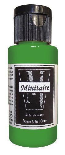 - Badger Air-Brush Company 2-Ounce Bottle Miniature Airbrush Ready Water Based Acrylic Paint, Ghost Tint Green
