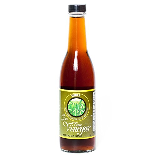 Steens Cane Pure - Steen's Pure Louisiana Cane Vinegar 12oz Glass Bottle (Pack of 3)