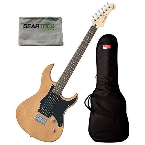 Yamaha PAC120HYNS Yellow Natural Satin 2 Alnico HB Pickups Electric Guitar w/Po ()