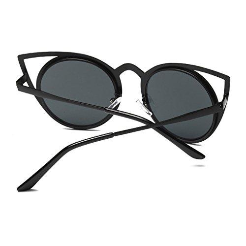 de Bk mujer diseño Gafas Gpk clásico UV400 gran JAGENIE sol para tamaño 6Pp5xXdnWd