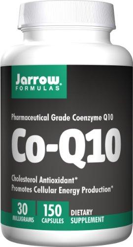 Jarrow Formulas Co-Q10 30 mg, Promotes Cellular Energy Production, 30 mg, 150 Caps