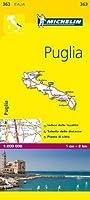 Michelin Map Italy: Puglia 363 (Maps/Local (Michelin)) (Italian Edition)