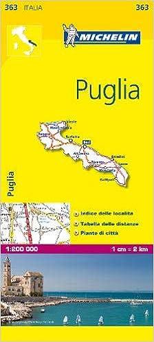 Mapa Local Italia-Puglia (Mapas Local Michelin): Amazon.es: Vv.Aa ...