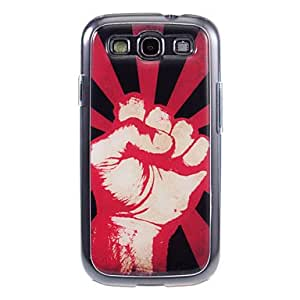 QHY Powerful Fist Pattern Hard Case for Samsung S4 I9500