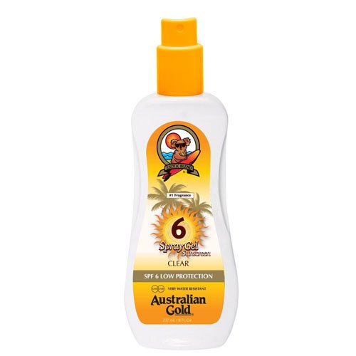 Australian Gold Spf 6 Spray Gel 237Ml 10113