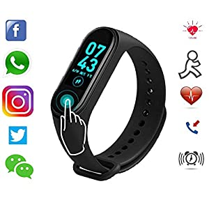 Cheap Smart Band SM4 Fitness Tracker Watch WaterProof India 2020