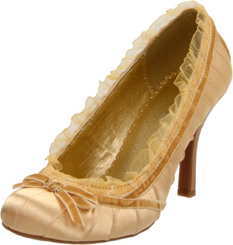 Ellie Shoes Women's 406-DOLL, Gold, 6 M US ()