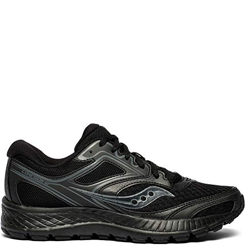 - Saucony Cohesion 12 Wide Women 7.5 Black | Black