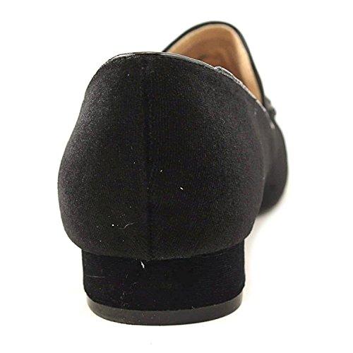 pour US Chaussures Unisa Multi Femme Frauen Fabric Black Bateau xEfqqwHI