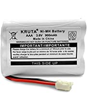 Kruta 900mAh 3.6V NI-MH Replacement Battery for Motorola MBP27T MBP33 MBP33S MBP33PU MBP33BU MBP33P MBP36 MBP36PU MBP35 MBP41 MBP43 MBP18 CB94-01A Baby Monitor