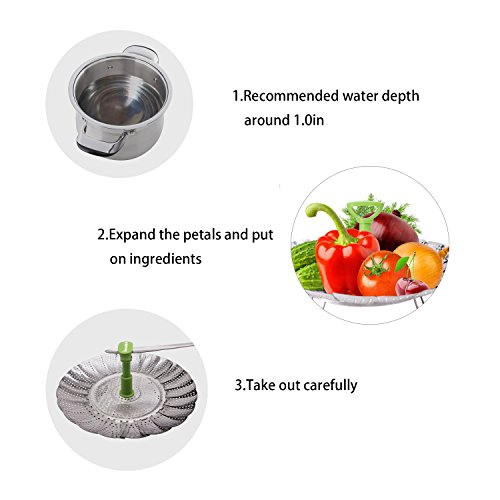vegetable steamer basket how to use