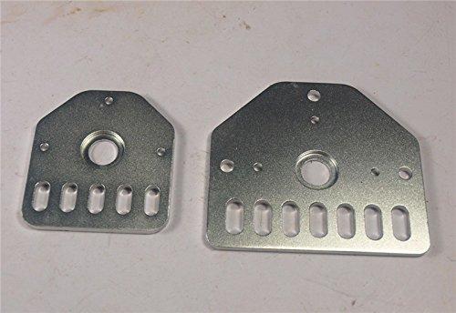 HEASEN Openbuilds OX CNC Universal Z Axis Nema-23/Nema-17 Threaded Rod Plates