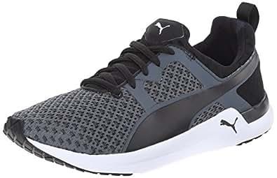 PUMA Women's Pulse XT Geo Training Shoe, Black, 6 B US