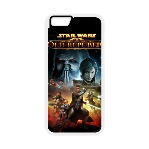Star Wars The Force Unleashed 2 3 coque iPhone 6 Plus 5.5 Inch cellulaire cas coque de téléphone cas blanche couverture de téléphone portable EEECBCAAN00110