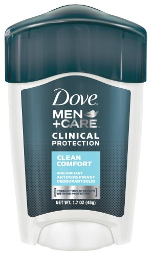 Dove Men + Care clinique protection Antiperspirant Déodorant solide, Clean Comfort, 1,7 oz
