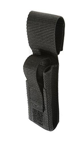 Mini Nylon Belt - Raine EMT Mini Light/Knife/Scissor Pouch, Black