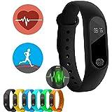 Pulseira Fitness Relógio Frequência Cardíaca Bluetooth Smartwatch