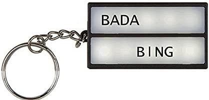Letrero luminoso Bada Bing con luces LED, con letras: Amazon ...