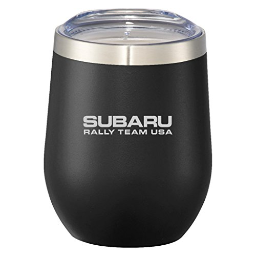 Subaru Rally Team USA Stemless Tumbler Cup Bottle Official Genuine WRX STI 12oz by Subaru Gear